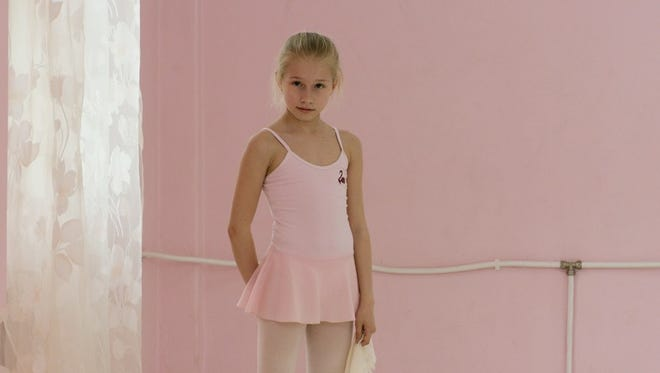 """An image from Rineke Dijkstra's video installation """"Marianna (The Fairy Doll)"""" (2014)."""