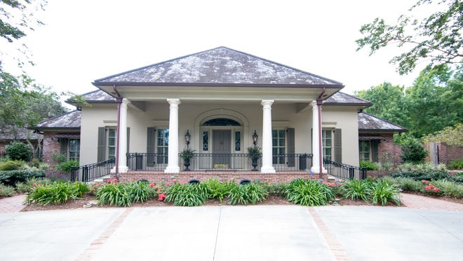 The home is located at 106 Riverbriar in Lafayette's finest neighborhood. It has 4 Br, 5ba and is listed at $3,875,000.