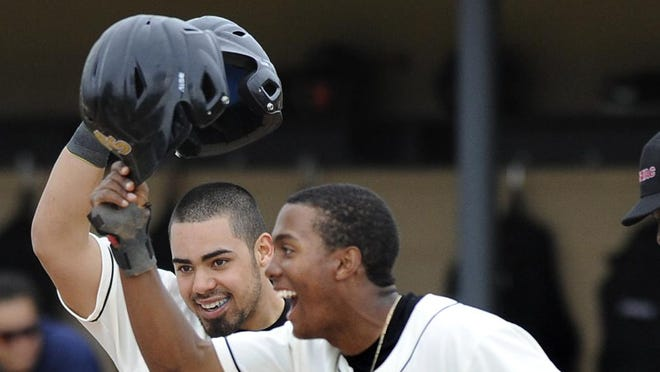 Alabama State's Richard Gonzalez, left, and Richard Amion were drafted on the last day of the baseball draft Saturday.