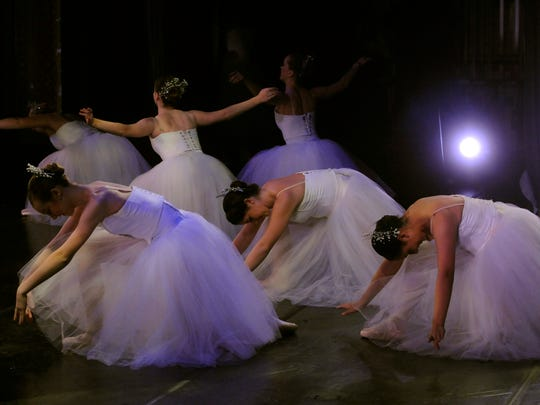 "Dancers perform during an afternoon matinee of the annual Abilene Ballet Theatre's production of The Nutcracker at the Paramount Theatre Nov. 21, 2010. The Dodge Jones Foundation has been ""fundamental"" to the life of the historic theater, according to  executive director Betty Hukill."