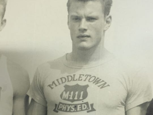 Middletown's Tom DeMarks, a 1965 graduate of Middletown High School who excelled in football, wrestling, and track and field.