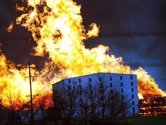 HEAVEN HILL DISTILLERY FIRE