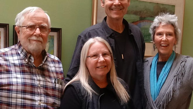 From left to right, the District 6 board inlcudes Phil Wood, treasurer; Tammy Gilley, vice president; Jim Potter, president; J. Alex Potter, secretary.