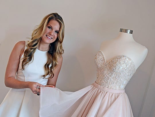 Kristin Panetta, owner of Elle James Bridal found her true calling to be a bridal consultant while working as a party planner.
