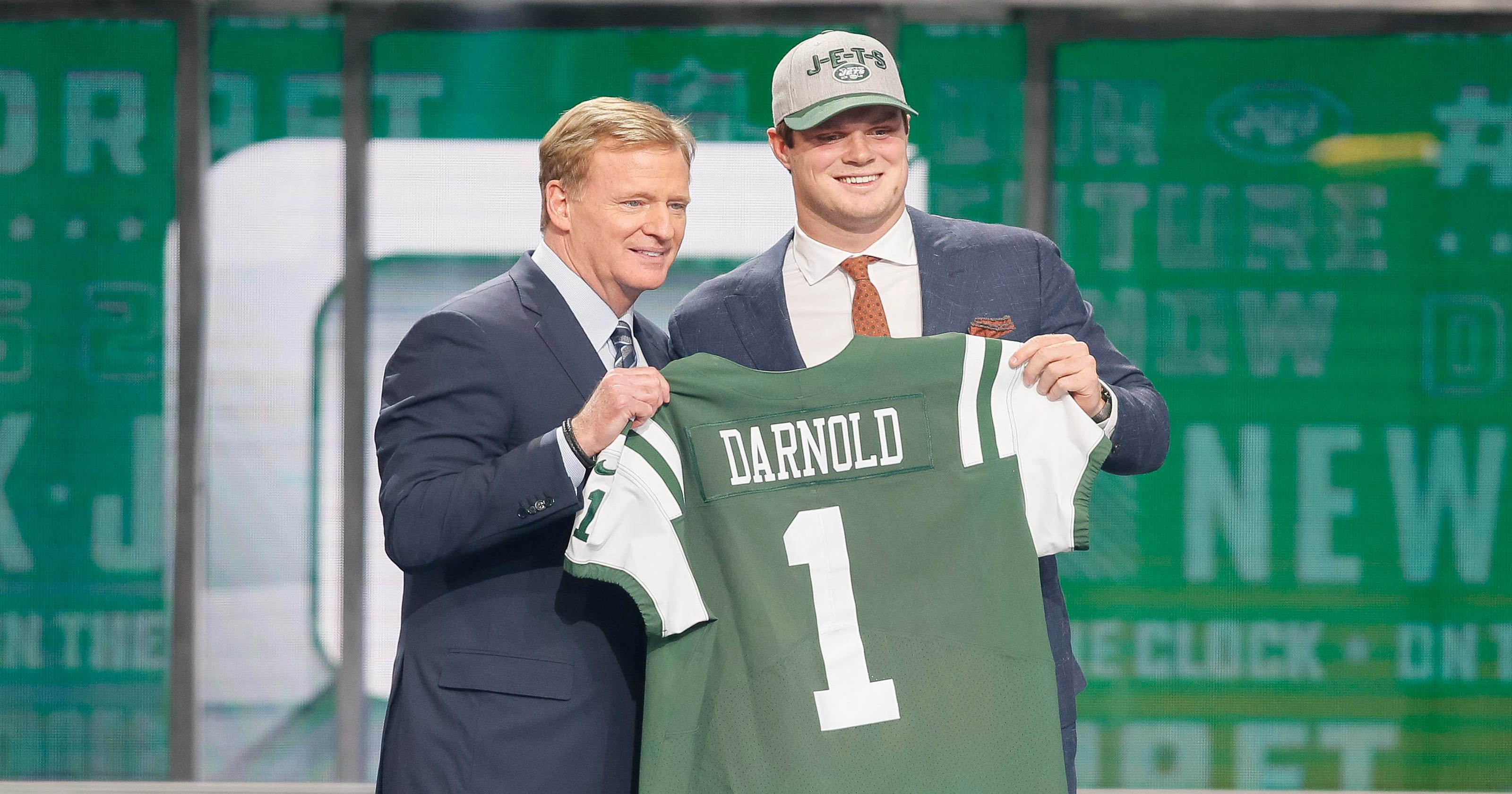 New York Jets select USC s Sam Darnold with third overall pick in ... 45a30d3e588