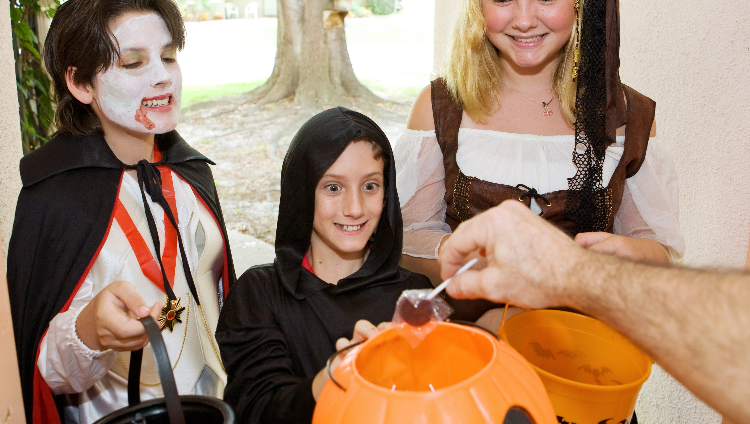 Should teens go trick-or-treating? Should you give them candy?