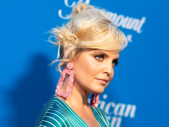"Actress Mena Suvari, shown at the ""American Woman"" premiere, is urging Bed Bath & Beyond to stop selling down products."