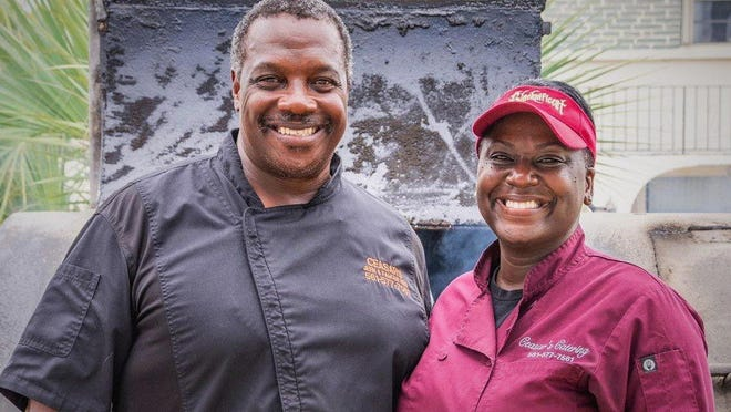 Pauline and Bill Ceasar opened a brick-and-mortar version of their Ceasar's Famous Ribs in Delray Beach in August. It was their first free-standing restaurant after years of running a popular roadside barbecue.