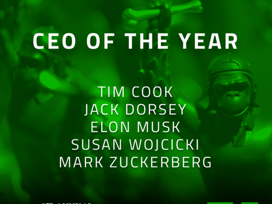 9th Annual Crunchies Finalists - CEO of the Year