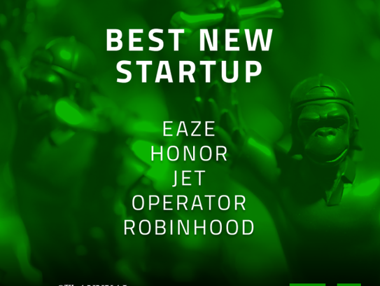 9th Annual Crunchies Finalists - Best New Startup
