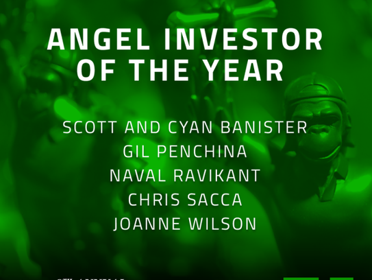 9th Annual Crunchies Awards Finalists - Angel Investor