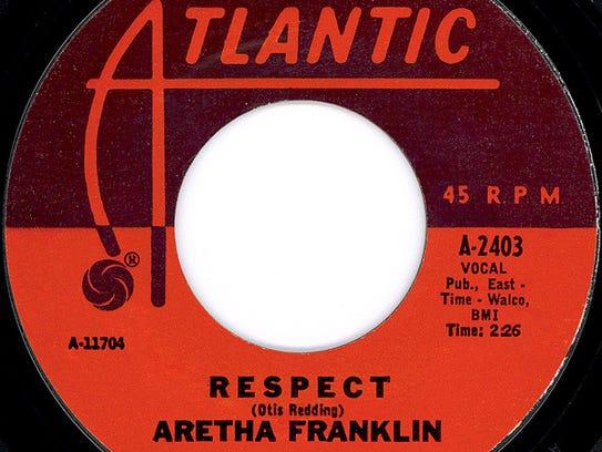 """""""Respect"""" on vinyl"""
