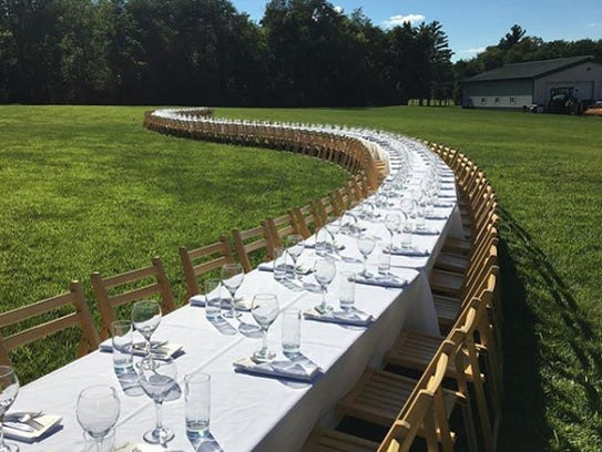 Outstanding in the Field, a national tour of farm dinners, will head to the Finger Lakes in 2018.