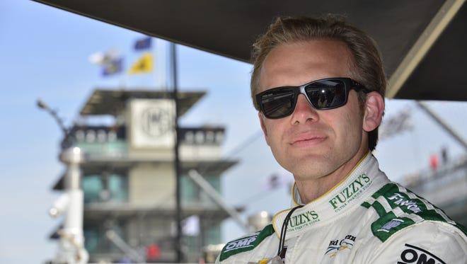 IndyCar driver Ed Carpenter.