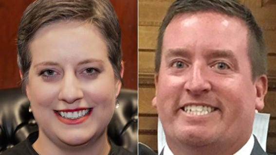 Democrat Emily S. Sutton and Republican Andrew J. Doyle ran for a seat on the six-county Ninth Judicial Circuit.