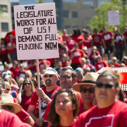 Board of Education drops discussion about punishing #RedForEd teachers over walkout