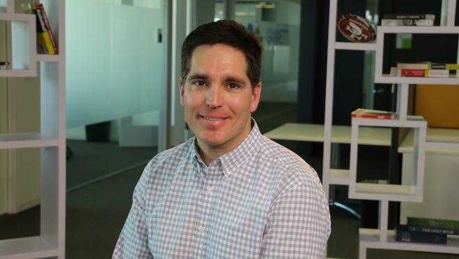 Vessel CEO Jason Kilar at the Los Angeles USA TODAY bureau.
