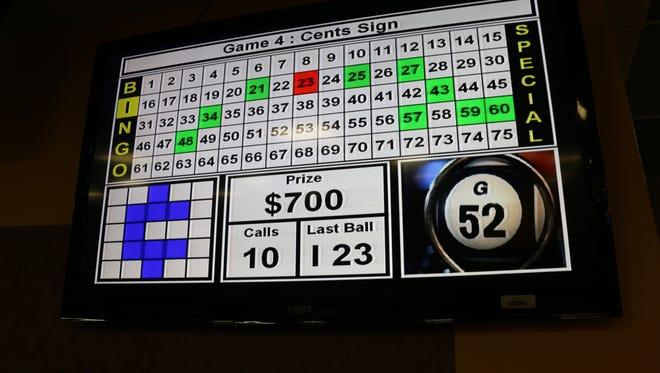 The Centennial Club will host bingo on Wednesdays and Saturdays.