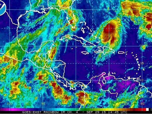 will hurricane joaquin flood nj