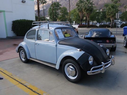 1967 Volks Wagon Bug donated by McCormick Classic Car Dealership to Angel View.