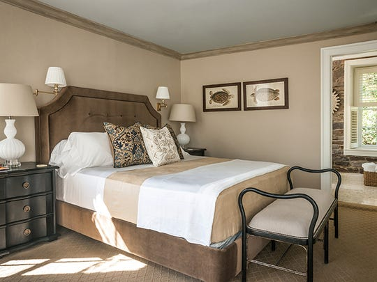 The Delaware suite at the Golden Pheasant Inn.