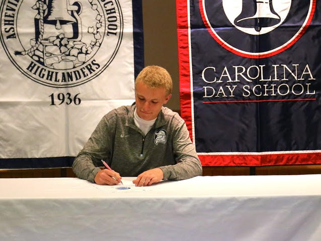 Carolina Day senior Candler Rice has signed to play college golf for Berry (Ga.).