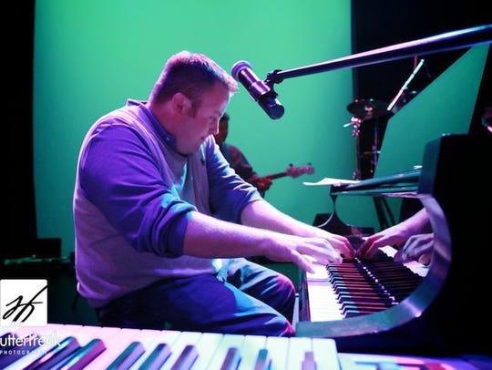 Pianist Sheldon Pickering will join the Delbert Anderson