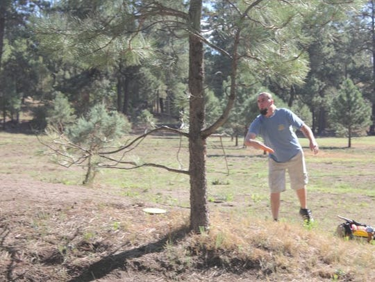 Ruidoso has hosted the New Mexico Disc Golf Championship