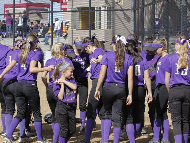The Fort Collins softball team, shown at the state tournament last season, is back and earned the No. 6 seed in Class 5A this season.