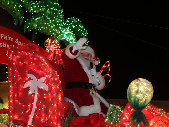The 23rd annual Festival of Lights Parade took place along Palm Canyon Drive in Palm Springs on Saturday, December 3, 2016.