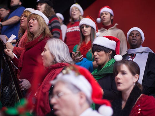 Music is part of the annual Deck the Halls event at Cornerstone.