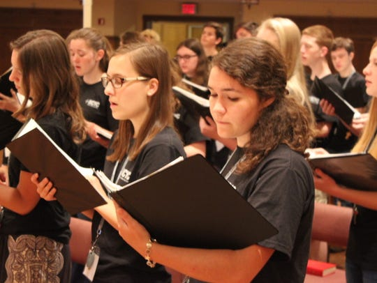 Singers will gather for the National Catholic Youth