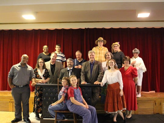 """The cast of """"To Kill A Mockingbird,"""" which will be"""
