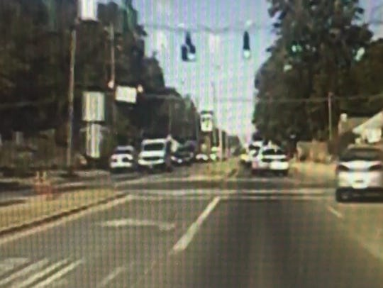Dash cam video of the Oct. 30 incident.