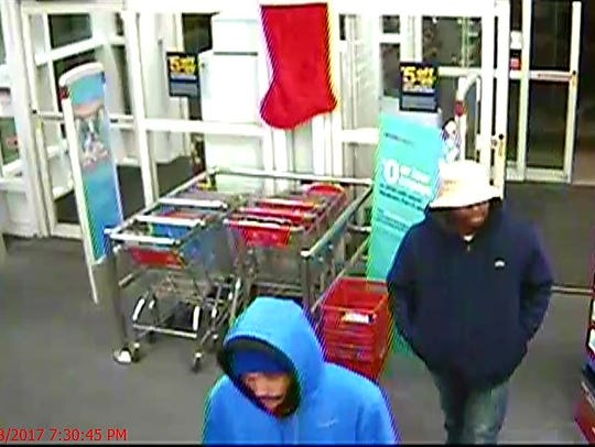 Police released these images of the men accused of robbing the CVS off Delaware Avenue Tuesday evening, stealing hundreds of dollars worth of drugs.