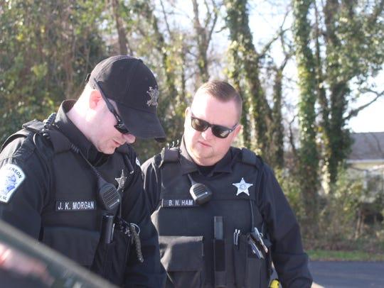 Jaden Morgan, an Anderson County Sheriff's Office deputy