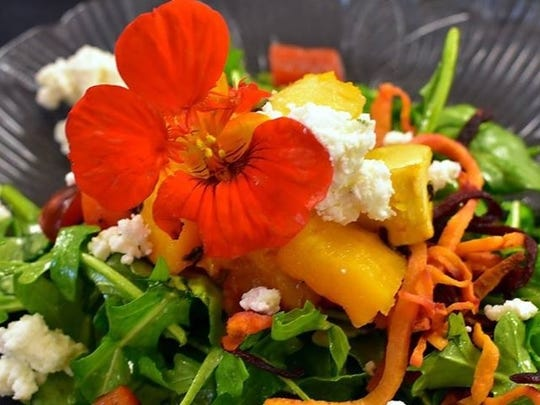 One of Reed's salad creations.