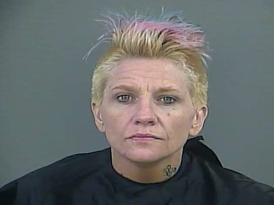 Tina Renae Hall has been charged with two counts of