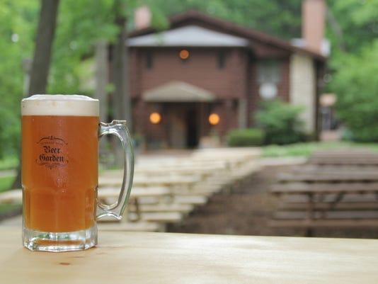 Hubbard Park Beer Garden