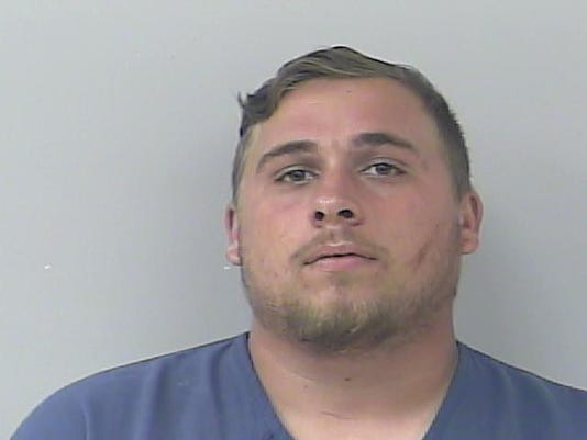 Jacob Schmiedeberg, a Port St. Lucie man was accused of pointed a B.B. gun at two people, officers said.
