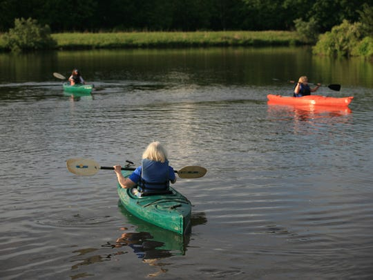 For those seeking something completely different and off the garden path, from June through Augustexplore the natural beauty of the Hudson River Estuary by kayak.