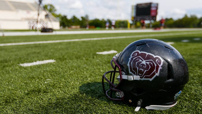 The Missouri State Bears opened fall training camp on Thursday, July 28, 2017 at Plaster Stadium.