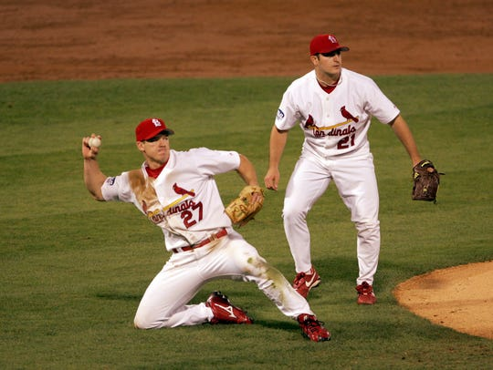 Scott Rolen became a World Series champion in 2006 with the St. Louis Cardinals.