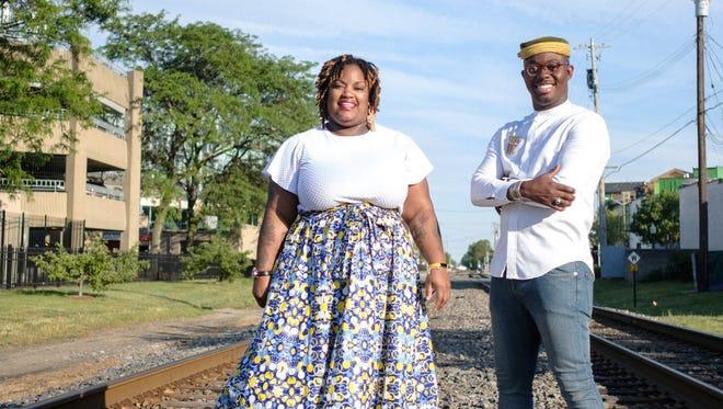 Black Restaurant Week co-founders Lauren Bates and Kwaku Osei-Bonsu.