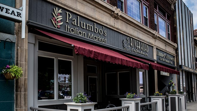Palumbo's Italian Market, located on North Park Place in downtown Newark, announced Thursday it will close the restaurant June 15. River Road coffeehouse, which shares the space with Palumbo's, will remain open.