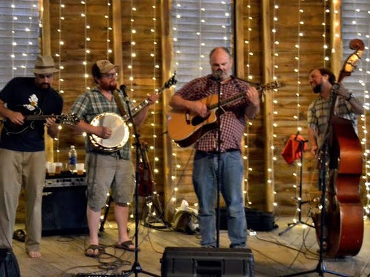 Bluegrass band Jerry Rigged.