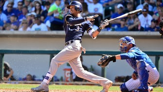 Orlando Arcia is highly skilled at shortstop but still learning at the plate.