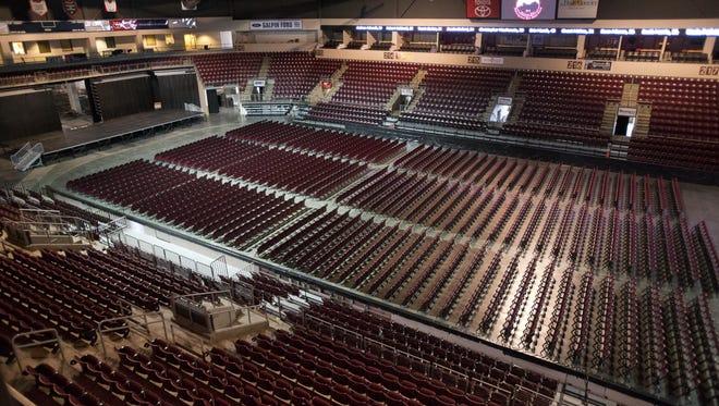 View inside Prescott Valley Event Center in 2013.