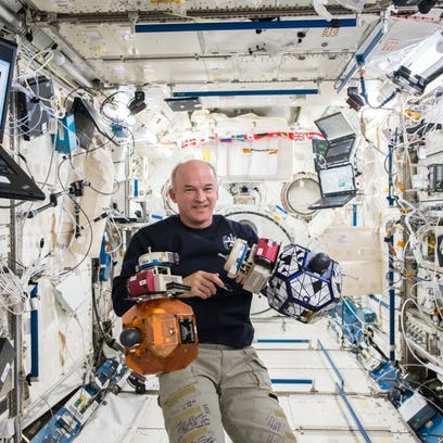 Expedition 48 Commander Jeff Williams earlier this