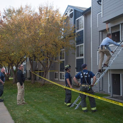 Fort Collins police respond to the scene of a fatal